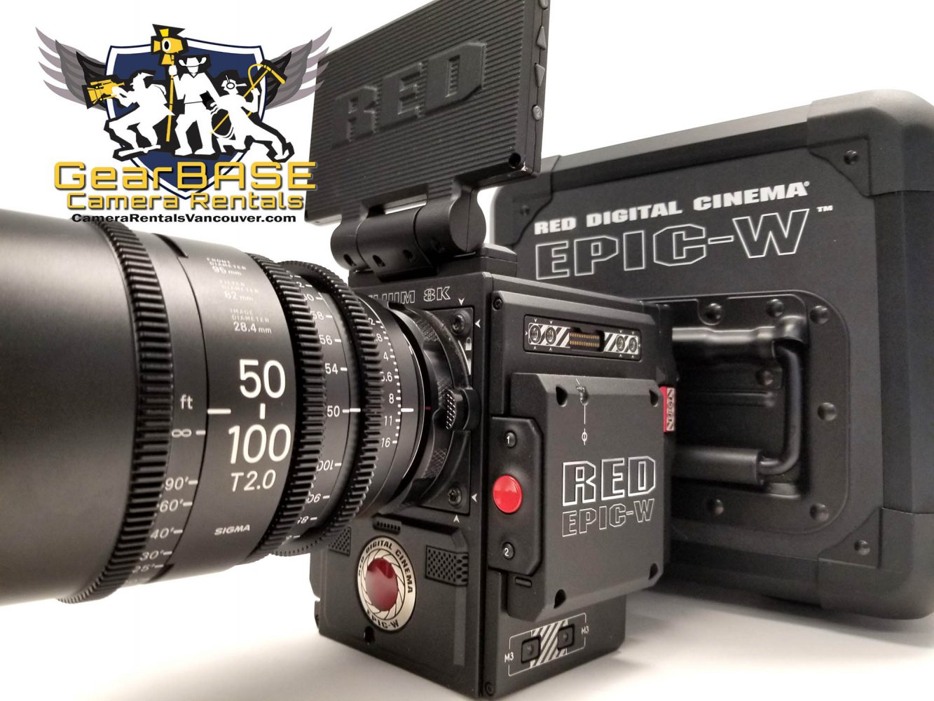 Red Epic W 8k Helium Rental - Camera Rentals Vancouver