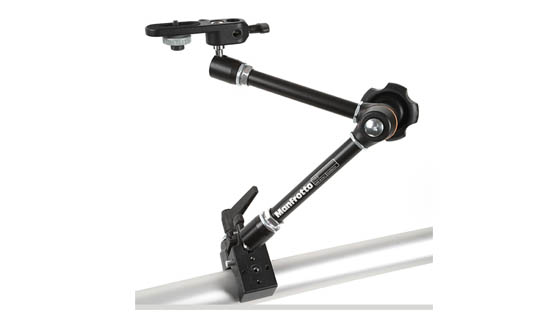 Manfrotto Magic Arm Kit on audio adapter kit