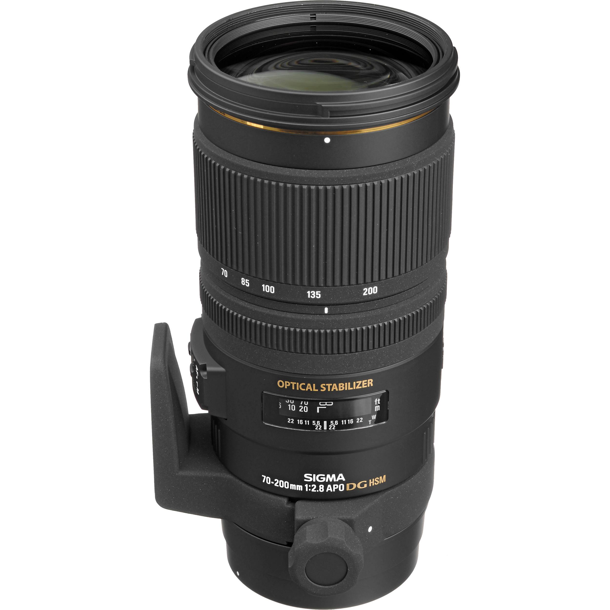Sigma 70 200mm F28 IS Rental